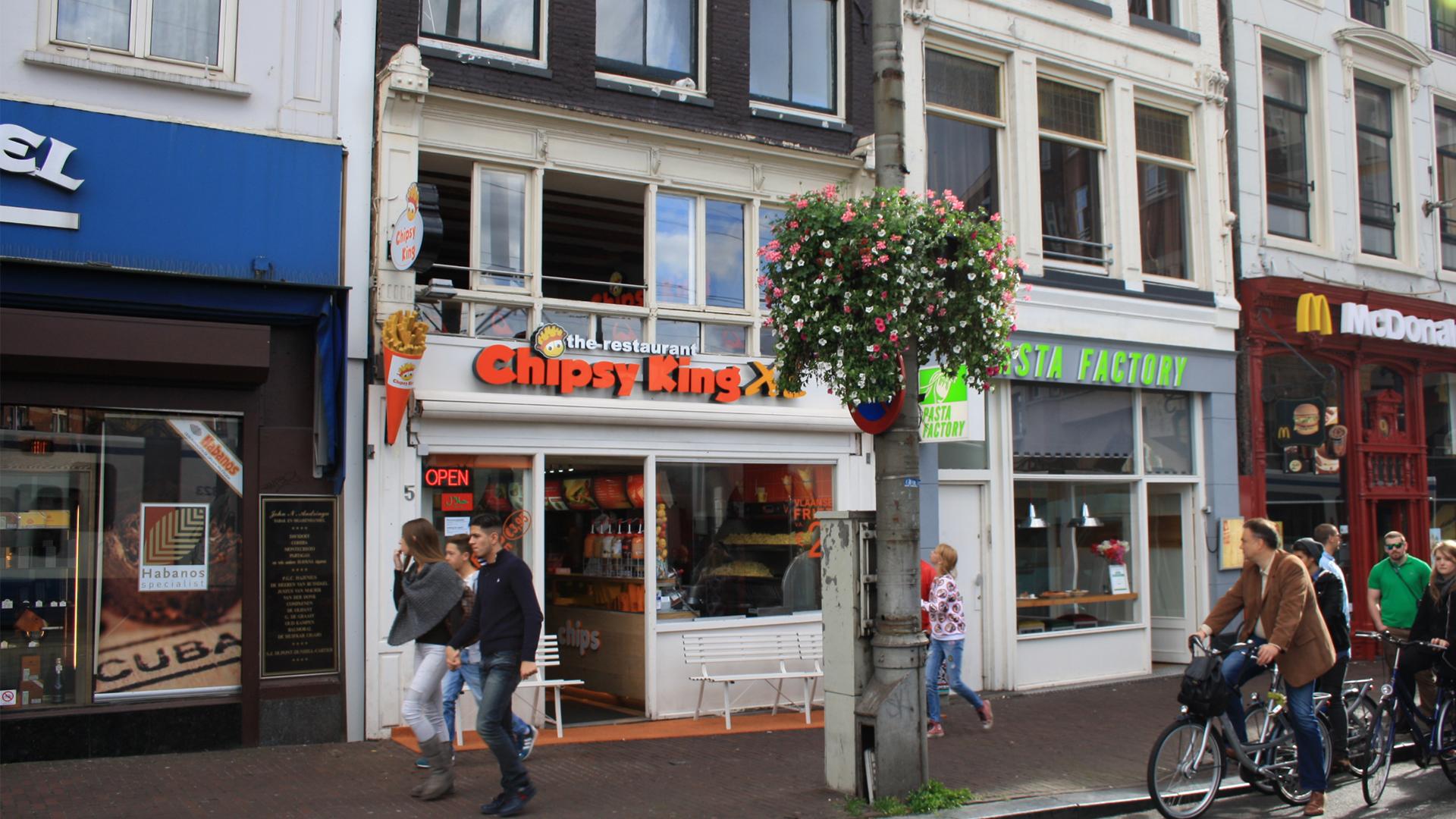 Chipsy King Muntplein 5 beste döner en friet van Amsterdam